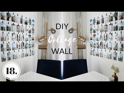 DIY WALL DECOR IDEA + WHAT I'VE PACKED FOR COACHELLA - Vlog 18 Mp3