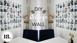 DIY WALL DECOR IDEA + WHAT I'VE PACKED FOR COACHELLA - Vlog 18