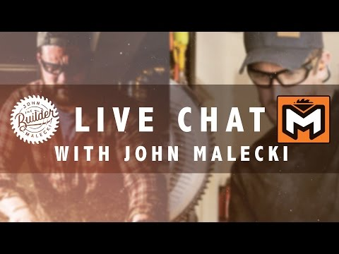 "MR. FIX IT LIVE: Q & A w/ JOHN ""THE BUILDER"" MALECKI"
