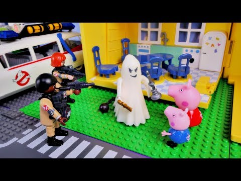 Peppa Pig – Ghost in house – New english episode Playmobil funny stories for kids