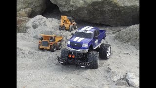Download Video UZAKTAN KUMANDALI ARABA KAMYON KEPÇE EKSKAVATÖR RC CAR huina TRUCK EXCAVATOR  Nikko GAME FORD PHYTON MP3 3GP MP4