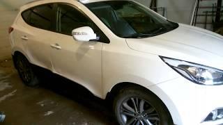 Hyundai Tucson  Auto body repairХундай ай икс 35 ремонт дверей .