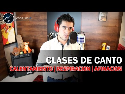 CLASES DE CANTO - Calentamiento Afinación Respiración - Curso de Canto COMPLETO