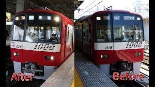 【京急】新1000形1009編成 歌を忘れた電車(シーメンスGTO-VVVF・東洋IGBT-VVVF)