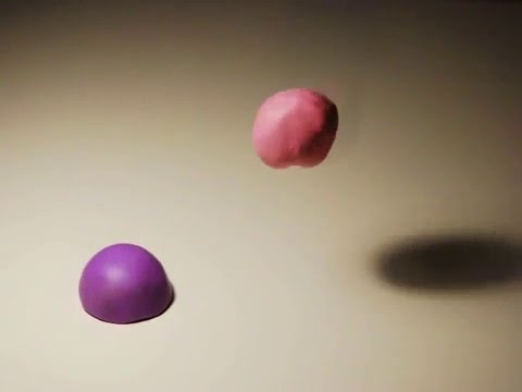 Claymation, stop motion animation, Heartbeats - YouTube