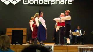 Engelska for Three Couples (traditional Swedish folk dance)