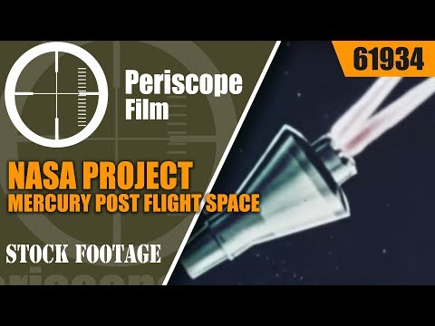 NASA PROJECT MERCURY  POST FLIGHT  SPACE CAPSULE RECOVERY PROCEDURES  61934