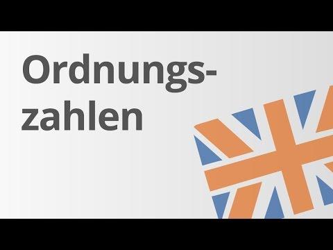 Englisch: Die Ordnungszahlen - Ordinal Numbers | Englisch | Wortschatz Und Konversation