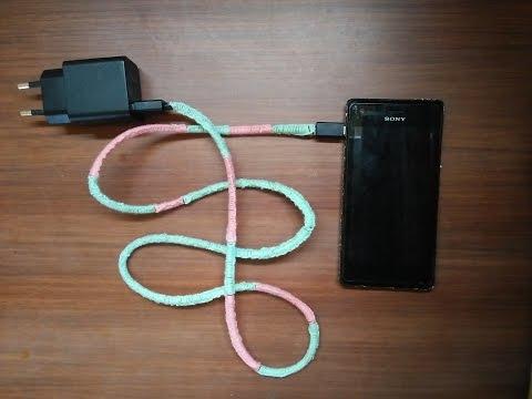 DIY : Cara Melindungi Kabel Charger Handphone