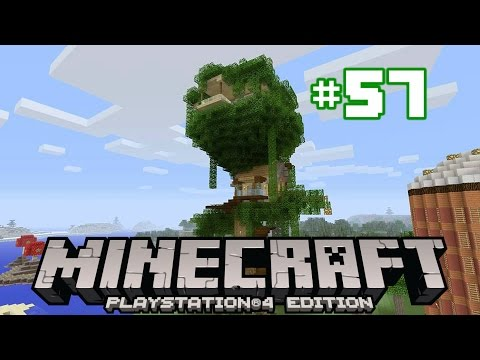 Minecraft PS4 Survival #57 | Sovereign Oak Finished!