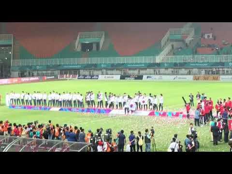 2018 Asian Games Men's Football Gold Medal Ceremony
