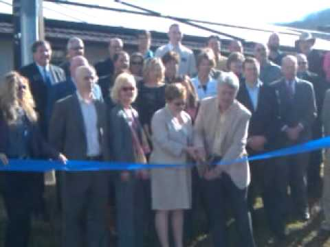 Silver Bluff Village Ribbon Cutting of SolTherm Energy Installation