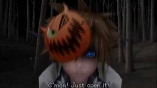 059 - The Door to Christmas Town (KH2 Cutscene)