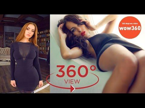 VR video girl - Lady Olga shows her beautiful girlfriend (360 degree video) indir