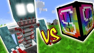 ESPIRITOS DO MACABROS VS. LUCKY BLOCK VIDEOGAME (MINECRAFT LUCKY BLOCK CHALLENGE)