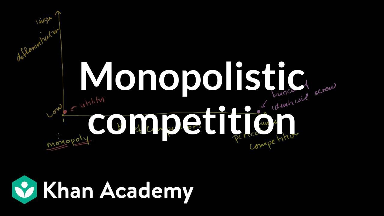 Oligopolies And Monopolistic Competition Forms Of Competition
