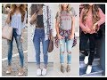 College Outfit Idea for teenage Girls || Girls Fashion Trend 2018
