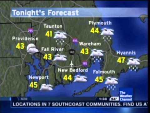 Fall River/New Bedford, MA IntelliStar Local Forecast 11/3/13