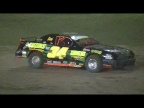 Mini Stock Feature | McKean County Raceway | 6-28-14