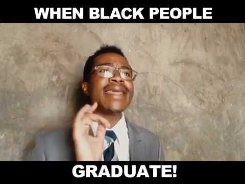 WHEN AFRICANS GRADUATE!