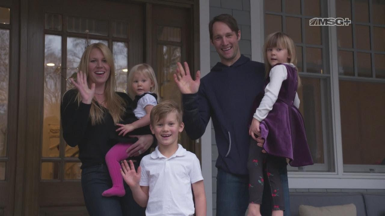 in stock b67f2 f140d Home for the Holidays With New Jersey Devils' Travis Zajac & His Family