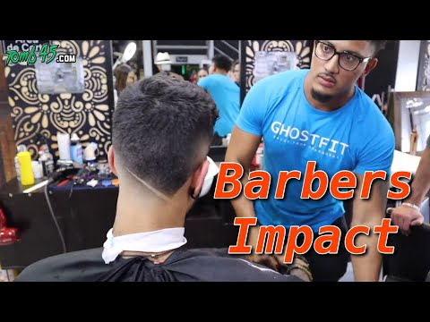 Crazy Unique mens Haircut #barbersimpact Challenge!