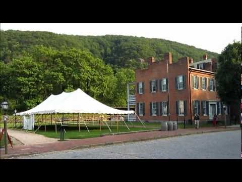 Harpers Ferry - Video Tour of Historic Town & Attractions, West Virginia - USA