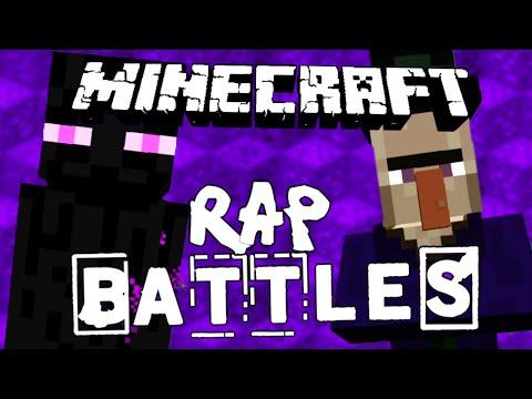 Ender VS Witch!!  Minecraft Rap Battle!!