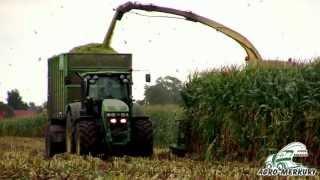 Zbiór kukurydzy na kiszonkę w rękaw foliowy AGRO MERKURY 2013