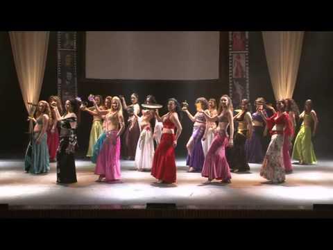 להקת איזיס ריקוד פתיחה  Isis Belly Dance