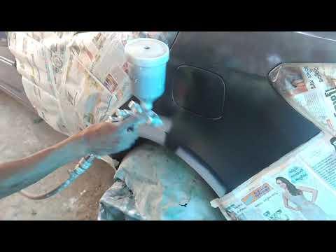 Sha car spray painting