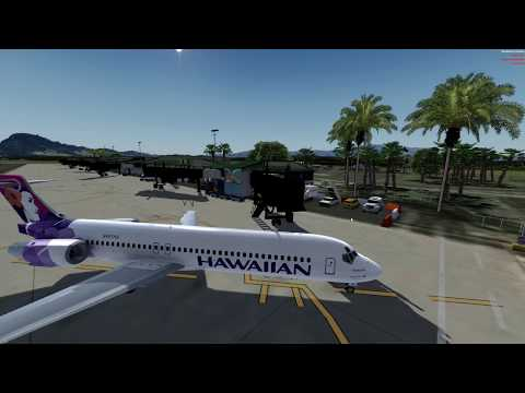 A 717 in Hawaii, in 4K! And with no CTD