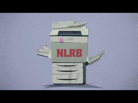 ¿Qué es la NLRB?