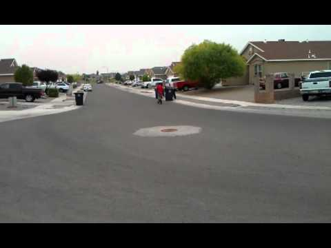 Zooma 33cc gas scooter test run