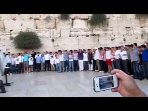 Shabbat Celebrations at the Kotel Western Wall)