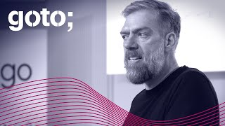 "GOTO 2019 • ""Good Enough"" Architecture • Stefan Tilkov"
