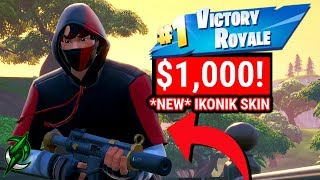 The most EXPENSIVE SKIN in Fortnite! NEW * ICONIC * SKIN S10 Exclusive!
