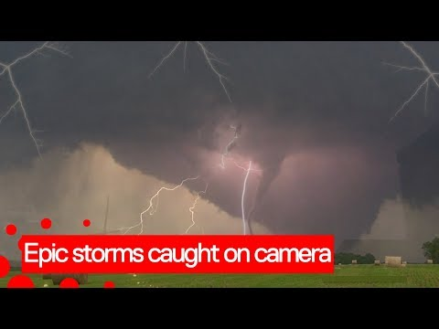Crazy Storms Caught On Camera | Insane Weather