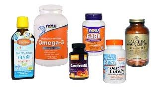 Витамины для глаз с iHerb.com. Что я даю своим детям для зрения.
