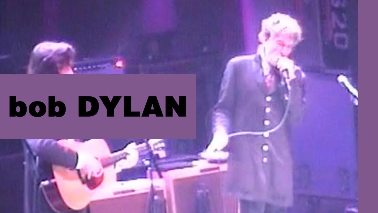 ~ Bob Dylan - Mr  Tambourine Man (Sheffield, September 22, 2000) ~
