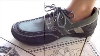 Woodland Shoes Leather Unboxing