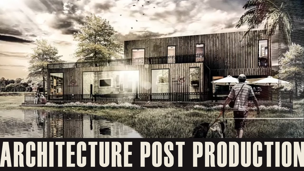 996 Best Archi Architecture Images On Pinterest: Photoshop For Architect: Rendering By Photoshop