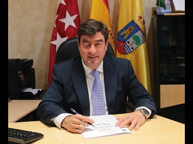 Entrevista Miguel A. Medranda.  Alcalde de Valdeolmos - Alalpardo