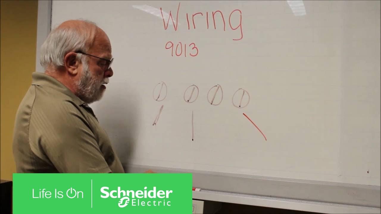 Volt Wiring Diagram Wiring A Square D 9013 Power Pressure Switch Schneider