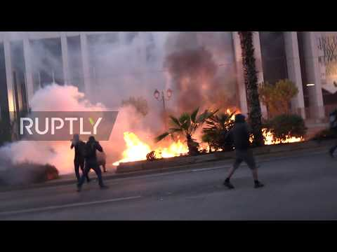 Greece: March for George Floyd turns violent in Athens