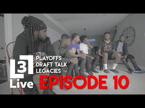 Drafts Picks, NBA Finals & Lebron's Legacy | 3Live | Episode 10
