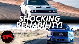 These Are Most (And Least) Reliable Cars and Trucks You Can Buy!