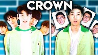 K-POP WITH ZERO BUDGET! (TXT - CROWN)