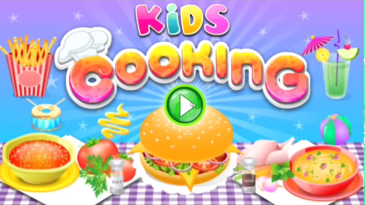Selection of cartoons on cooking kitchens food and eating - Cooking In The Kitchen Best Kids Cooking Choose Your Favourit Recipe Kid Fly Eat Apple Funny
