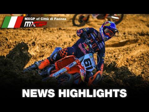 Las mejores imágenes del GP de Faenza que se anotó Jorge Prado